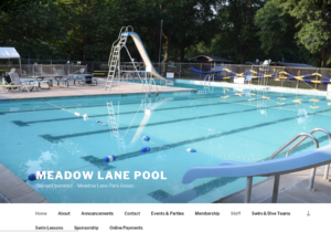 Announcements Meadow Lane Pool